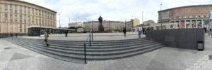 Мощение площадей